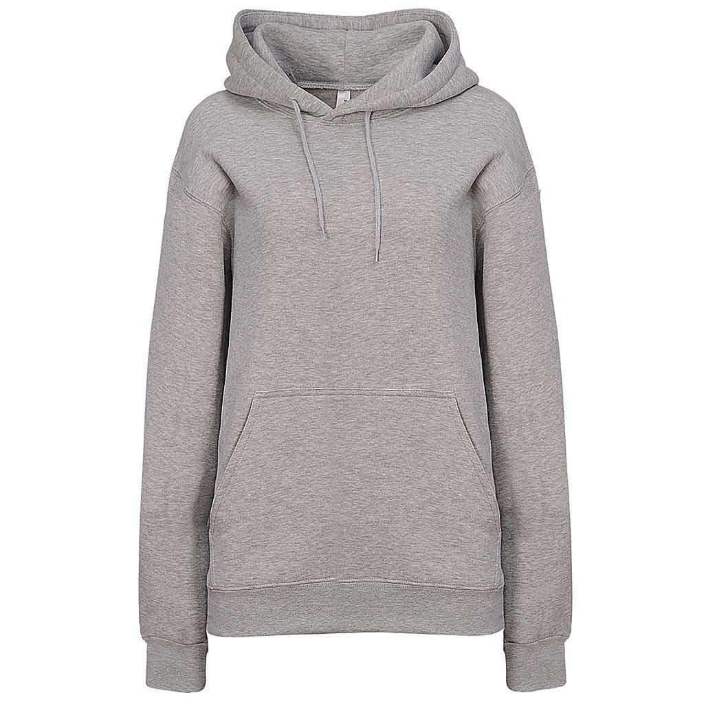 Womens Heather Gray Ash Pullover Hoodie