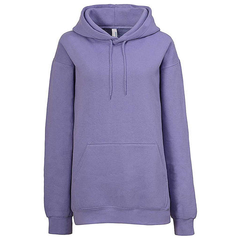 Womens Lavender Light Purple Pullover Hoodie