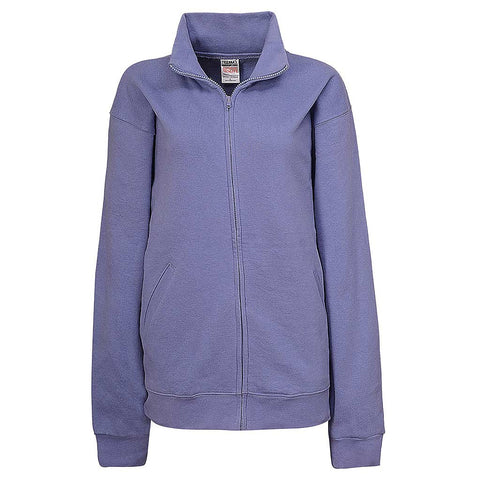Womens Lavender Purple Full Zip Jacket - Teemax