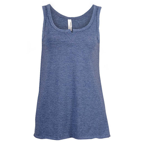 Womens Navy Blue Tank Top Notch