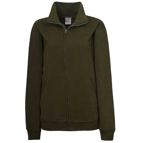 Womens Olive Dark Green Full Zip Jacket - Teemax