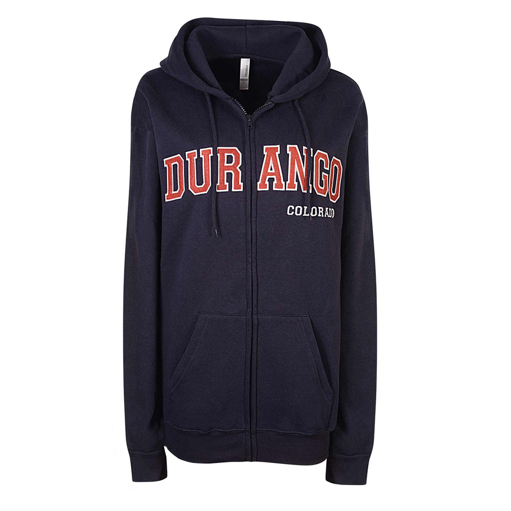 Womens Durango Colorado Zip Hoodie (NAVY)