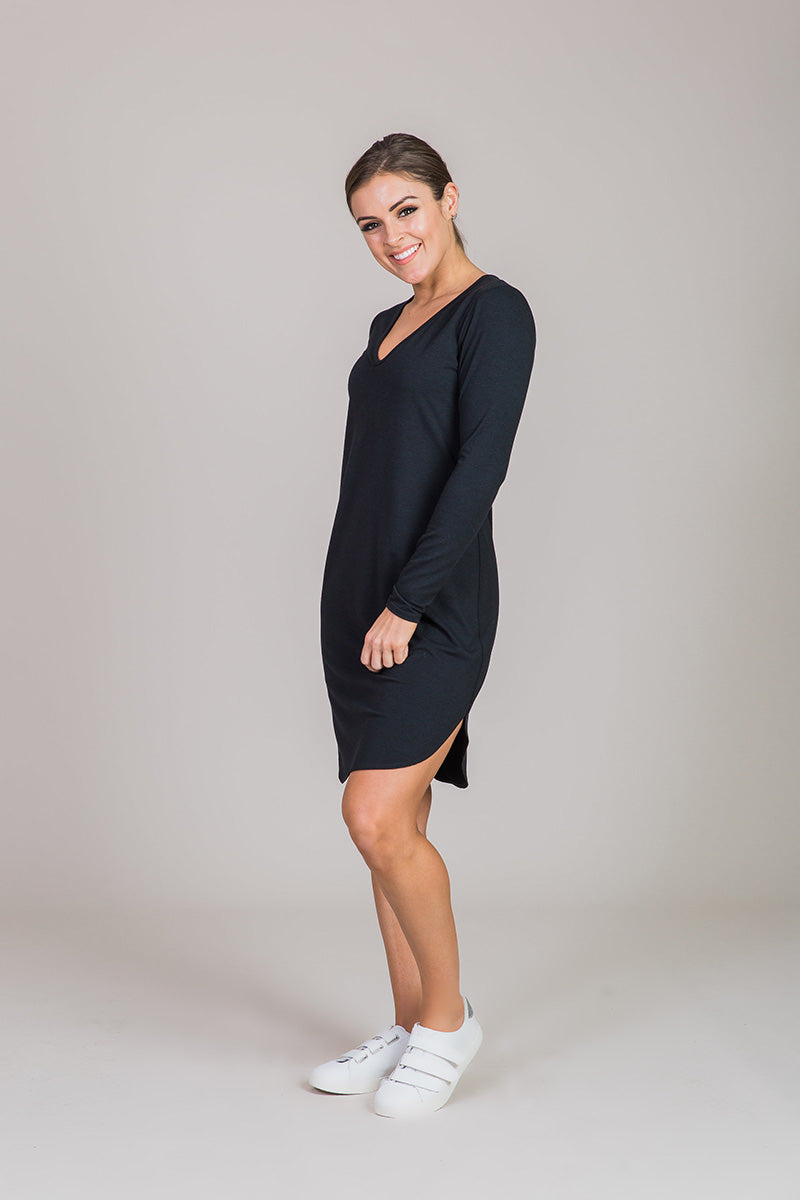 Nicole Alex black dress