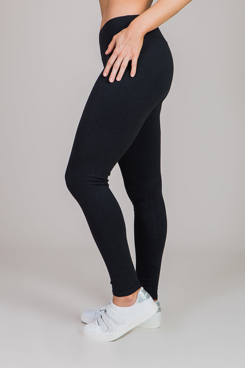 Nicole Alex basic black legging
