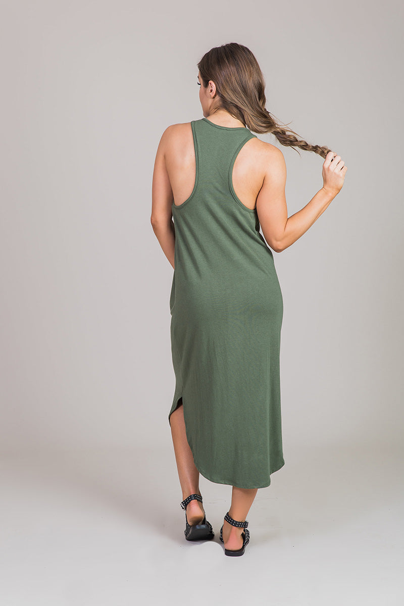 Nicole Alex racerback dress
