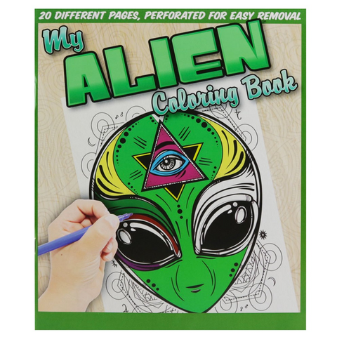 ALIEN COLORING BOOK