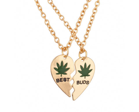 BEST BUDS NECKLACES (2 PIECES)