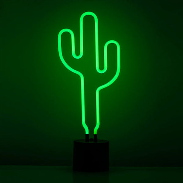 CACTUS NEON SIGN TABLE LAMP