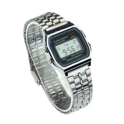 RETRO SILVER WATCH
