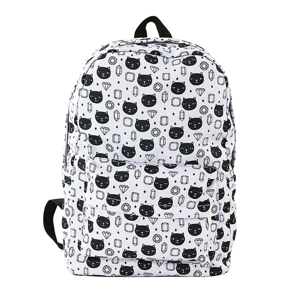 CATS AND GEMS BACKPACK