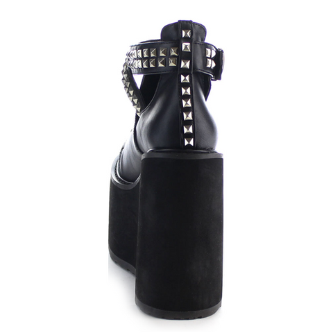 Demonia Destructo Low Studded Ankle Strap Platform Boots Black Pop Gallery PopGallery shopPopGallery 1.png