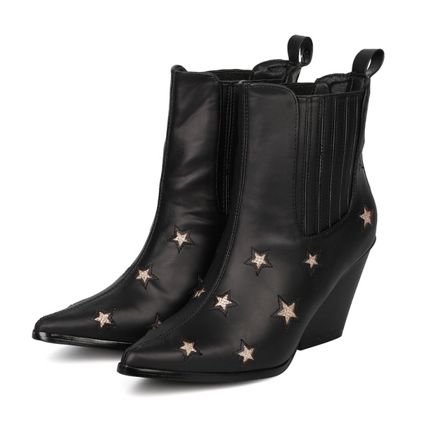 KESLEY SUPERSTAR ANKLE BOOTS