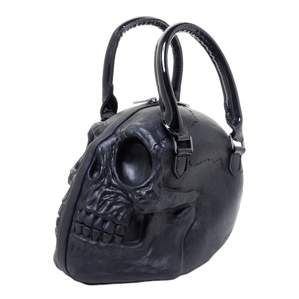 SKULL COLLECTION HANDBAG BLACK