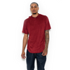 JETBANG LA SUEDE HOODED TOP RED
