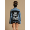STORY TIME DENIM JACKET