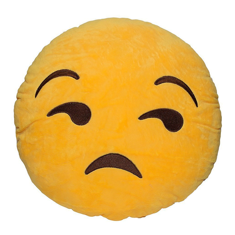 SIDE EYE EMOJI PILLOW