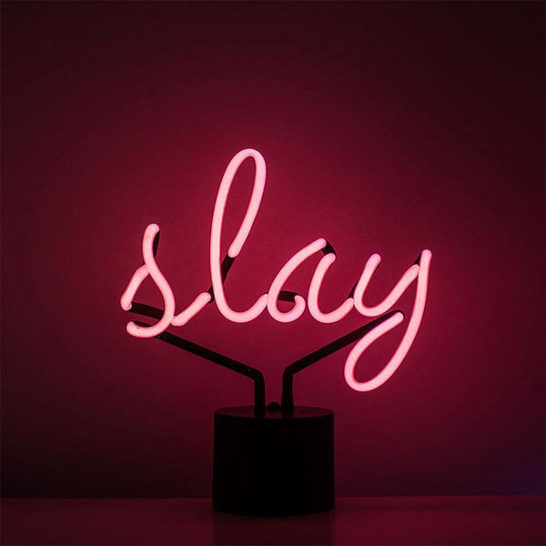 SLAY NEON SIGN TABLE LAMP