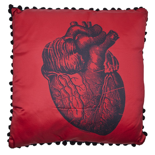 SOURPUSS ANATOMICAL HEART PILLOW