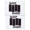 SOURPUSS SLEEP HARD PILLOWCASES