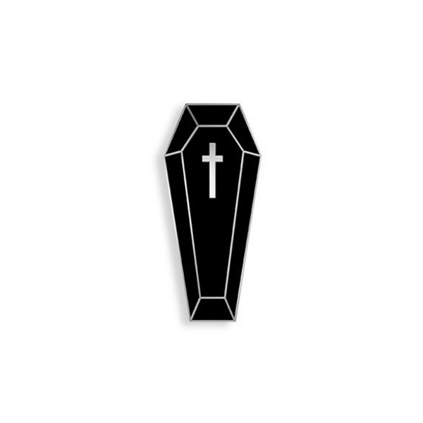 COFFIN QUEEN ENAMEL PIN