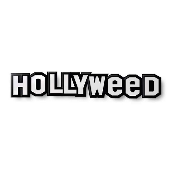 HOLLYWEED ENAMEL PIN