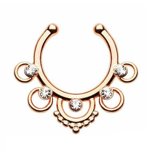 CALYPSO JEWELED SEPTUM CLIP