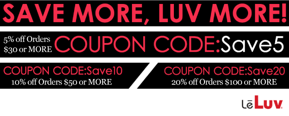 LeLuv Coupon Specials