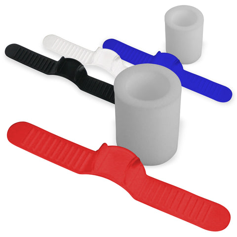 Silicone Strap and Wide Cushion Replacement SETS for SLIDER Penis Extenders