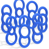 Tension Rings EYRO Slippery Silicone .5 Inch Through 1 Inch Unstretched Constriction