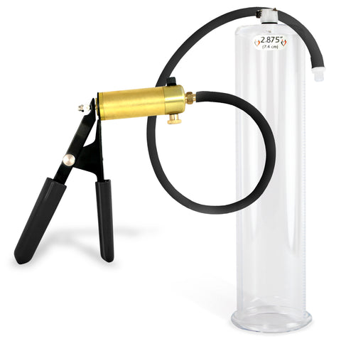 Penis Pump ULTIMA Black with Premium Silicone Hose