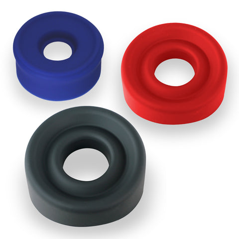 "Premium Silicone Sleeves for 1.35""-3.5"" Diameter Penis Cylinders - Many Options"