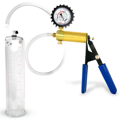 Ultima Penis Pump Gauge & Cover & 9 Inch Cylinder
