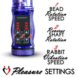 Rabbit Vibrator SLIM BUNNY Waterproof Swirling Shaft