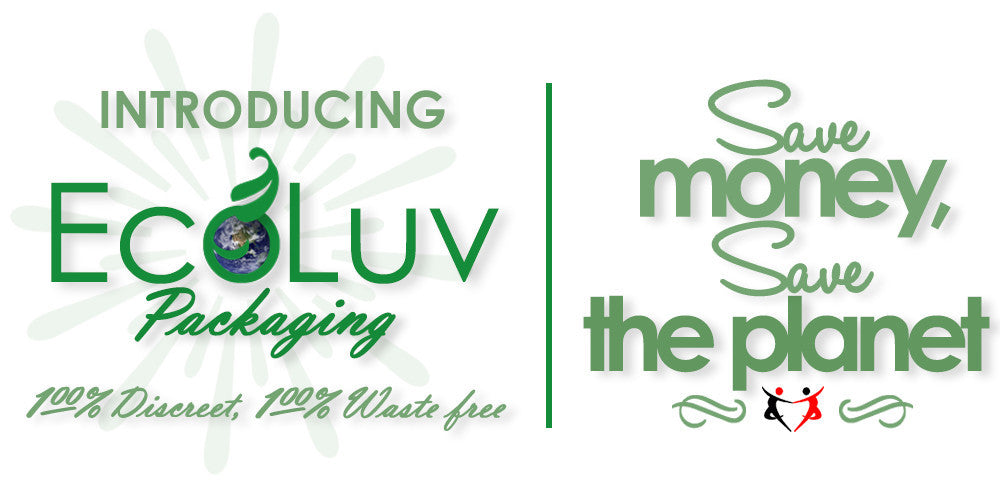EcoLuv Packaging saves material and shipping costs!