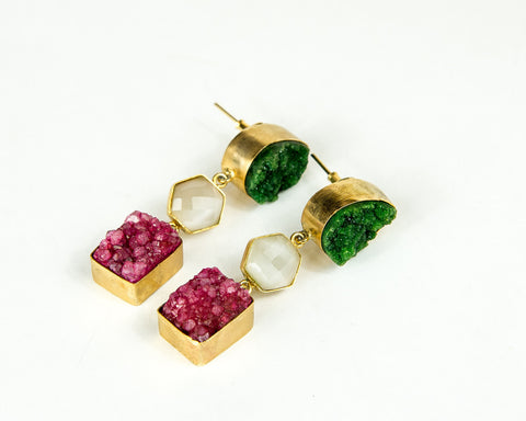 ZINNIA DANGLER EARRINGS