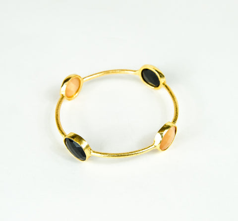SMOKY TOPAZ BANGLE
