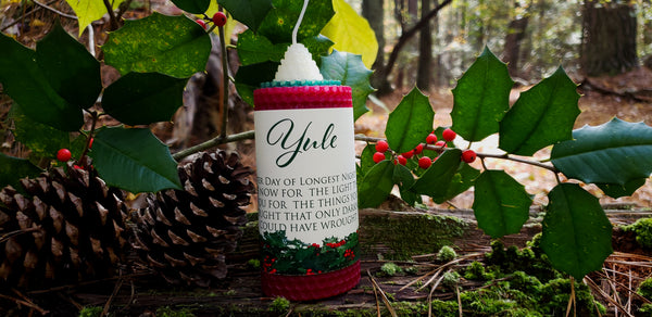 Yule Candle~To Honor the Returning Sun