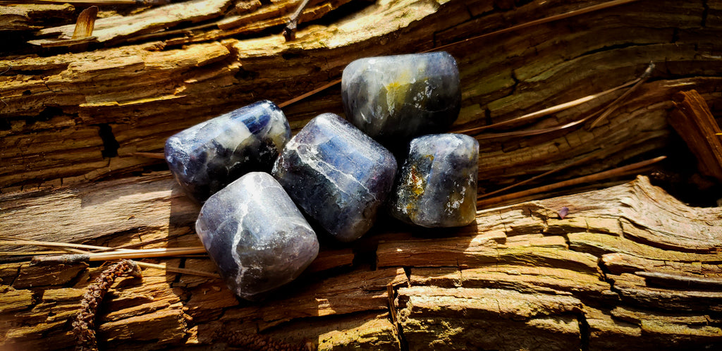 Iolite ~For Visions + Journeying - Wild Witchery