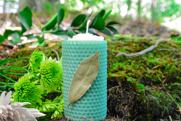 Bay Leaf Wish Candle~For Making Your Wishes Come True