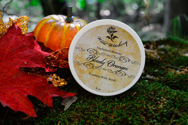 Bloody Oranges Foaming Body Polish~For an Invigorating Bathing Ritual - Wild Witchery