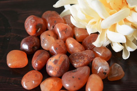 Carnelian~For Courage, Strength & Stamina - Wild Witchery