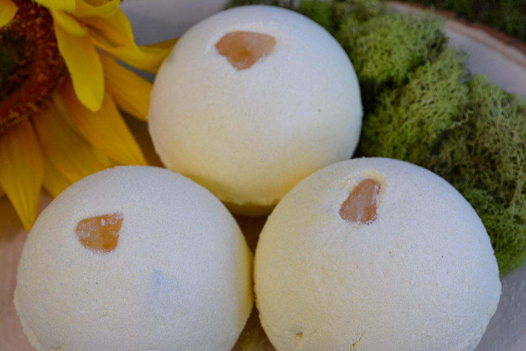 Citrine Bath Bomb (Formerly Money Bomb) - Wild Witchery