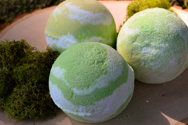 Coconut Lime Verbena Bath Bombs - Wild Witchery