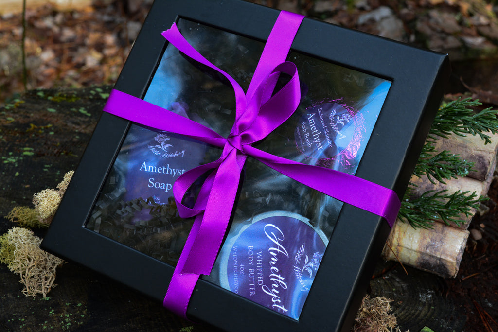 Crystal Bath & Body Gift Set - Wild Witchery
