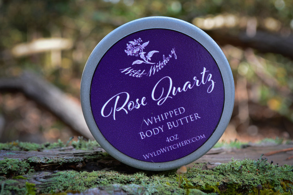 Crystal Infused Body Butters - Wild Witchery