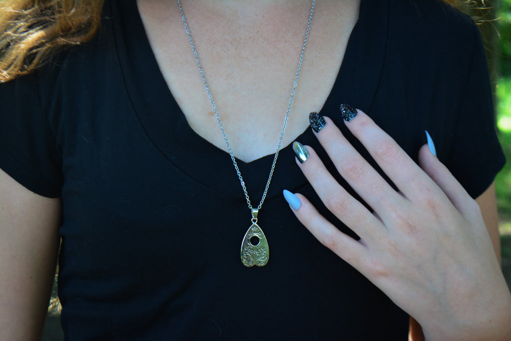 Planchette Necklace~For Mystifying Adornment - Wild Witchery