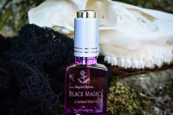 Black Magick Perfume~A Spellwork Blend - Wild Witchery