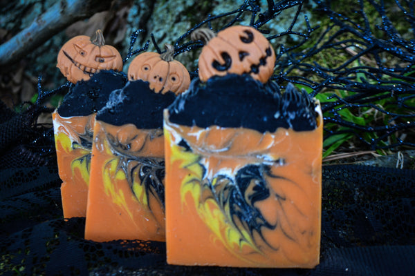 Jack -O-Lantern Soap - Wild Witchery