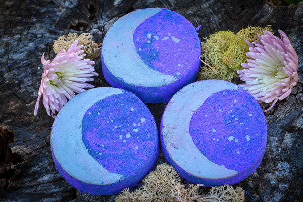 Nightfall Bath Bomb~For entering the Twilight + Restful Sleep - Wild Witchery