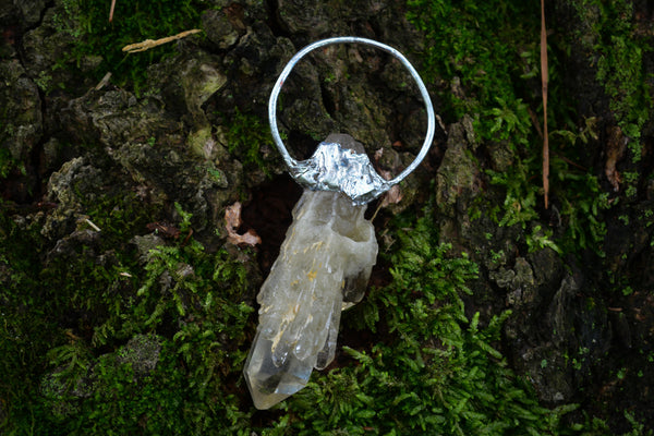 Cathedral Quartz Pendant - Wild Witchery